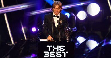 Luka Modric gana premio 'The Best' y destrona a Cristiano Ronaldo